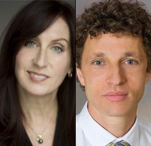 Maryn McKenna and Dr. Marcel Curlin